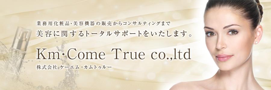 ケーエム・カムトゥルー Km・Come True 愛知県岐阜県三重県静岡県の美容商材 美容コンサルティング